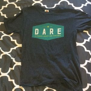 Iconic dare T-shirt dark gray